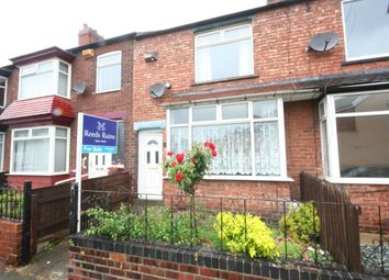 Thumbnail 3 bed terraced house for sale in Arncliffe Road, West Lane, Middlesbrough