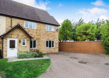 Thumbnail 3 bed end terrace house for sale in Heron Way, Royston