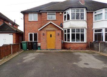 Thumbnail 5 bedroom semi-detached house for sale in Chester Road, Kingshurst, Birmingham