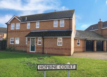 Thumbnail 5 bedroom detached house for sale in Hopbine Court, Ramsey, Huntingdon