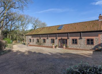 Thumbnail 4 bed barn conversion for sale in Thurning, Melton Constable