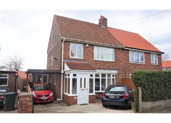 Thumbnail 3 bedroom semi-detached house for sale in Southmead Avenue, Newcastle Upon Tyne
