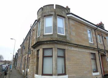 Thumbnail 1 bed flat for sale in Garturk Street, Whifflet, Coatbridge, North Lanarkshire