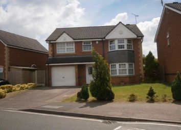 Thumbnail 4 bed detached house to rent in Celandine Road, Hamilton, Leicester