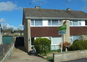 Thumbnail 3 bed semi-detached house for sale in Burn Road, Corsham, Wiltshire