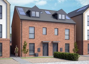 Thumbnail 3 bed town house for sale in Old Saffron Lane, Aylestone, Leicester