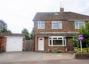 Thumbnail 3 bed semi-detached house for sale in The Coronet, Horley