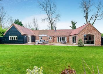 Thumbnail 4 bed detached bungalow for sale in Old Stable Gardens, Tydd St. Giles, Wisbech