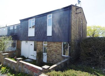 Thumbnail 4 bed end terrace house for sale in Mendip Close, Basingstoke