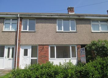 Thumbnail 3 bedroom terraced house to rent in Heol Awstin, Ravenhill, Swansea, City & County Of Swansea.