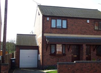 Thumbnail 2 bed semi-detached house to rent in Downing Street, South Normanton, Alfreton