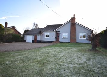 Thumbnail 3 bed detached bungalow for sale in The Street, Dennington, Woodbridge