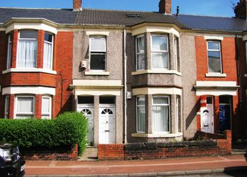 Thumbnail 4 bedroom terraced house to rent in Simonside Terrace, Newcastle Upon Tyne