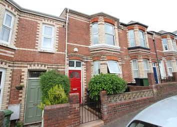 Thumbnail 3 bed terraced house for sale in 17 Monkswell Road, Mount Pleasant, Exeter