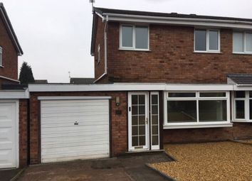 Thumbnail 3 bed semi-detached house to rent in Manor Rise, Arleston, Telford