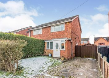 Thumbnail 2 bed semi-detached house for sale in Ivanhoe Road, Lichfield