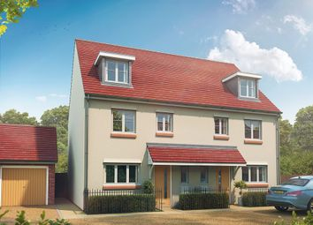 "Thumbnail 4 bed semi-detached house for sale in ""The Leicester"" at Maidstone Studios, New Cut Road, Maidstone"