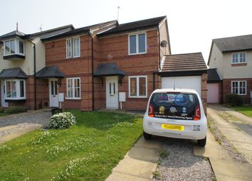 Thumbnail 2 bed semi-detached house to rent in Hebrides Close, Sinfin, Derby