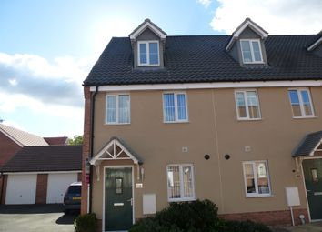Thumbnail 3 bedroom town house for sale in Canberra Road, Carbrooke, Thetford