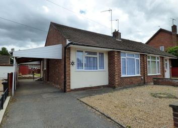 Thumbnail 2 bed bungalow to rent in Mendip Road, Northampton
