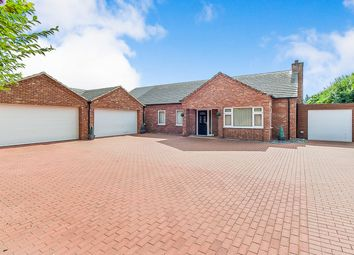 Thumbnail 4 bed detached bungalow for sale in Church Road, Walsoken, Wisbech