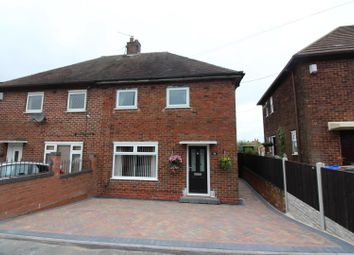 Thumbnail 2 bed semi-detached house for sale in Brundall Oval, Bentilee, Stoke-On-Trent
