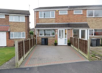 Thumbnail 3 bed semi-detached house for sale in Trafford Drive, Nuneaton