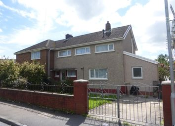 Thumbnail 3 bed semi-detached house for sale in Heol Llwynon, Neath