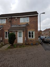 Thumbnail 2 bedroom end terrace house to rent in Vervain Close, Cardiff
