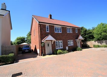 Thumbnail 2 bed semi-detached house for sale in Meadow View Close, Woodbury, Exeter