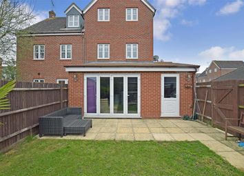 Thumbnail 3 bed town house for sale in Chestnut Court, Angmering, West Sussex