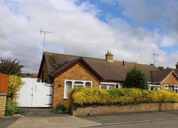 Thumbnail 3 bed semi-detached bungalow for sale in Glebe Way, Hardingstone, Northampton
