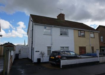 Thumbnail 3 bed semi-detached house for sale in Eastwick Road, Taunton