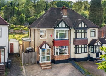 Thumbnail 3 bed semi-detached house for sale in Oaks Road, Kenley