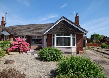 Thumbnail 3 bed semi-detached bungalow for sale in Applewood Crescent, Longton, Stoke-On-Trent