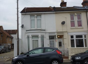 Thumbnail 5 bedroom end terrace house to rent in Fawcett Road, Southsea