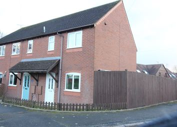 Thumbnail 3 bed end terrace house to rent in Broomhall Green, Broomhall, Worcester