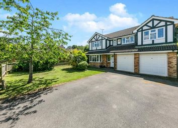 Thumbnail 6 bed detached house for sale in West End, Woking, Surrey