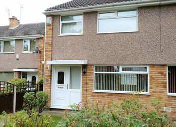 Thumbnail 3 bed semi-detached house to rent in Pennine Walk, Little Sutton, Ellesmere Port