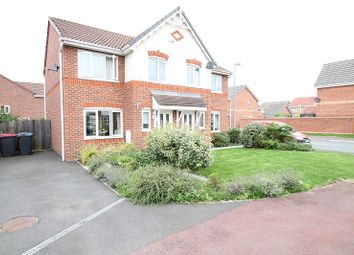Thumbnail 3 bed semi-detached house for sale in Townsgate Way, Irlam, Manchester