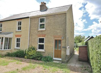 Thumbnail 3 bed semi-detached house for sale in Long Drove, Waterbeach, Cambridge