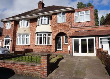 Thumbnail 4 bedroom semi-detached house for sale in Newbolds Road, Wolverhampton