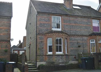 Thumbnail 3 bed semi-detached house to rent in Croham Road, Crowborough