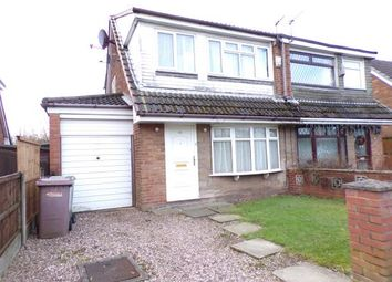 Thumbnail 3 bed semi-detached house for sale in Chestnut Avenue, Haydock, St. Helens, Merseyside