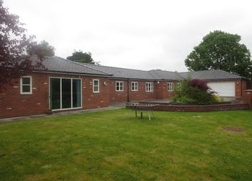 Thumbnail 4 bed detached bungalow for sale in Nursery Gardens, Butterton, Newcastle, Staffordshire