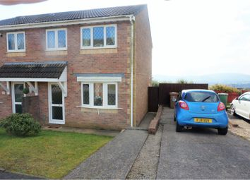 Thumbnail 3 bed semi-detached house for sale in Heol Cwarrel Clark, Caerphilly
