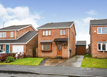 Thumbnail 3 bed detached house for sale in Meadow View, Holmewood, Chesterfield, Derbyshire