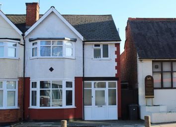Thumbnail 3 bed semi-detached house for sale in East Park Road, Evington, Leicester