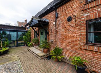 Thumbnail 4 bed barn conversion for sale in The Street, Bramerton, Norwich