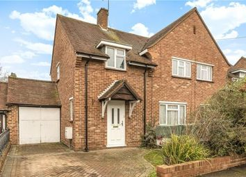 Thumbnail 3 bed semi-detached house for sale in Great Goodwin Drive, Guildford, Surrey
